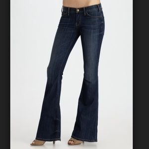 Current Elliott The Low Bell Voyage Wash Jeans 25